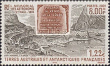 [The 127th Anniversary of French Astronomers' Visit to St. Paul Island to Observe Transit of Venus across the Sun, type PM]