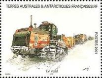 [Adelie Land - Aquarelle Paintings by Serge Marko, Booklet Stamps - No Value Expressed (5.20Fr/0.80€), type PZ]