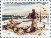 [Adelie Land - Aquarelle Paintings by Serge Marko, Booklet Stamps - No Value Expressed (5.20Fr/0.80€), type QG]