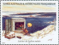 [Adelie Land - Aquarelle Paintings by Serge Marko, Booklet Stamps - No Value Expressed (5.20Fr/0.80€), type QH]