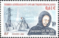[The 2nd Anniversary of the Death of Jacques Dubois (Antarctic Researcher), 1920-2001, type QP]