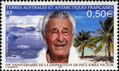 [The 10th Anniversary of the Death of Paul-Emile Victor (Polar Explorer and Writer), 1907-1995, type TW]
