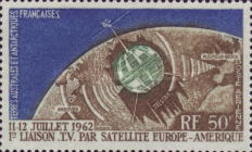 [Airmail - The 1st Trans-Atlantic T.V. Satellite Link, type U]