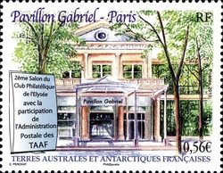 [The 2nd Anniversary of the Philatelic Exhibition of the Club de l'Elysee, Versailles, type ZT]
