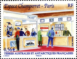 [Philatelic Show in Champerret Paris, France, type ZY]