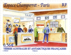 [Philatelic Show in Champerret Paris, France - Self Adhesive, type ZY1]