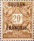 [Upper Senegal and Niger No. 8-15 Stamps Overprinted