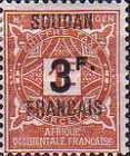 [Not Issued Stamps from Upper Senegal and Niger Overprinted & Surcharged, type B1]