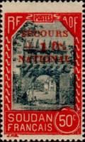 [Life in Sudan Stamps of 1931-1938 Overprinted & Surcharged, type AA]
