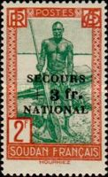 [Life in Sudan Stamps of 1931-1938 Overprinted & Surcharged, type AA3]