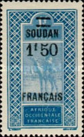 [Upper Senegal and Niger Stamps of 1914-1916 & Not Issued Stamps Overprinted