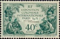 [Colonial Exposition, Paris, type I]
