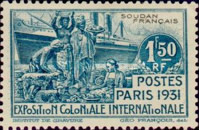 [Colonial Exposition, Paris, type L]