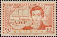 [The 100th Anniversary of the Death of Rene Caillie(1799-1838), type T]