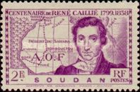[The 100th Anniversary of the Death of Rene Caillie(1799-1838), type T1]