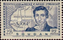 [The 100th Anniversary of the Death of Rene Caillie(1799-1838), type T2]
