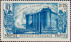 [The 150th Anniversary of the French Revolution, type V4]