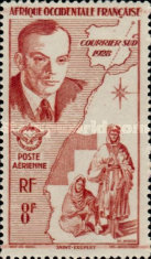 [Airmail - Aviation in West Africa, type AF]