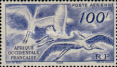 [Airmail - Aviation in West Africa, type AH]
