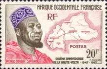 [The 100th Anniversary of the Founding of Upper Volta, type BZ]