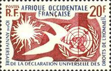 [The 10th Anniversary of the Universal Declaration of Human Rights, type CB]