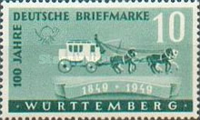 [The 100th Anniversary of the First German Stamp, Typ P]