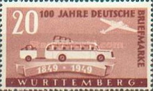 [The 100th Anniversary of the First German Stamp, Typ Q]