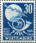 [The 75th Anniversary of the Universal Postal Union, Typ R1]