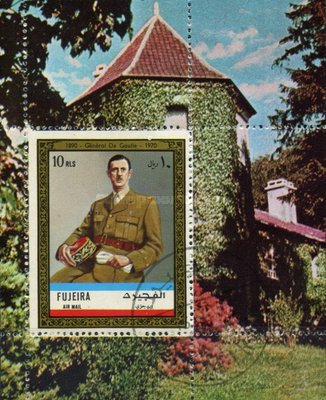 [Airmail - Charles de Gaulle, Typ ]