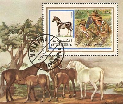 [Airmail - Scouts and Animals, Typ ]