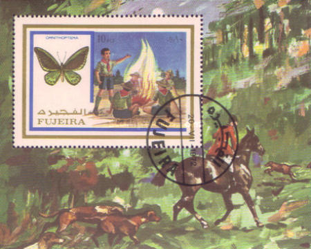 [Airmail - Scouts and Butterflies, Typ ]