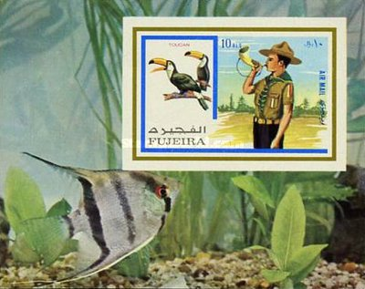 [Airmail - Scouts and Birds, Typ ]