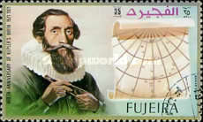 [The 400th Anniversary of the Birth of Johannes Kepler, 1571-1630, Typ ACN]