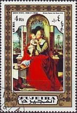 [Airmail - Madonna Paintings, Typ AEN]