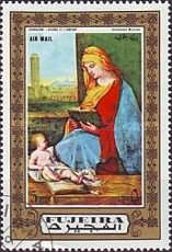 [Airmail - Madonna Paintings, Typ AEO]