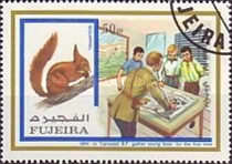 [Airmail - Scouts and Animals, Typ AFI]
