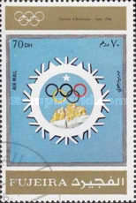 [Airmail - Olympic Winter Games 1924-1972 - Posters, Typ AFR]