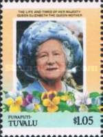[The 85th Anniversary of the Birth of Queen Elizabeth, 1900-2002, Typ G]