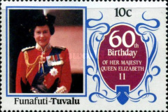 [The 60th Anniversary of the Birth of Queen Elizabeth II, Typ K]