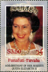 [The 60th Anniversary of the Birth of Queen Elizabeth II, Typ N]
