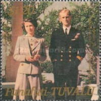 [The 40th Anniversary of the Wedding of Queen Elizabeth II & Prince Philip, Typ X]