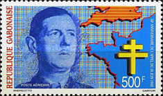 [Airmail - The 50th Anniversary of De Gaulle's Call to Resist, type AGF]