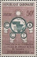 [The 10th Anniversary of African Technical Co-operation Commission, type AJ]