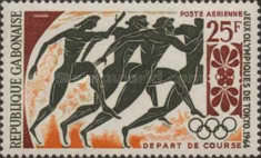 [Airmail - Olympic Games - Tokyo, Japan, type BW]
