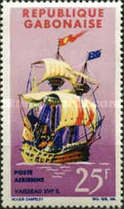 [Airmail - Old Ships, type CK]