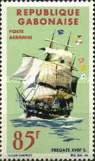 [Airmail - Old Ships, type CM]