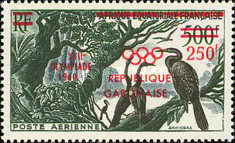 [Airmail - Olympic Games - Rome, Italy, type FF1]