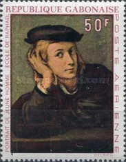 [Airmail - The 450th Anniversary of the Death of Raphael, type IH]