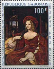 [Airmail - The 450th Anniversary of the Death of Raphael, type II]