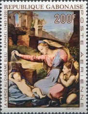 [Airmail - The 450th Anniversary of the Death of Raphael, type IJ]